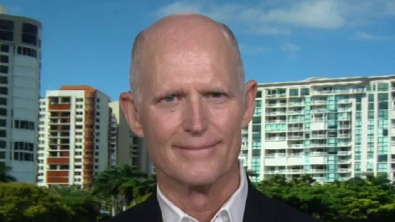 Sen. Rick Scott, R-Fla., calls President-elect Joe Biden's coronavirus relief plan, which calls for $350 billion for state and local governments, 'wrong.'