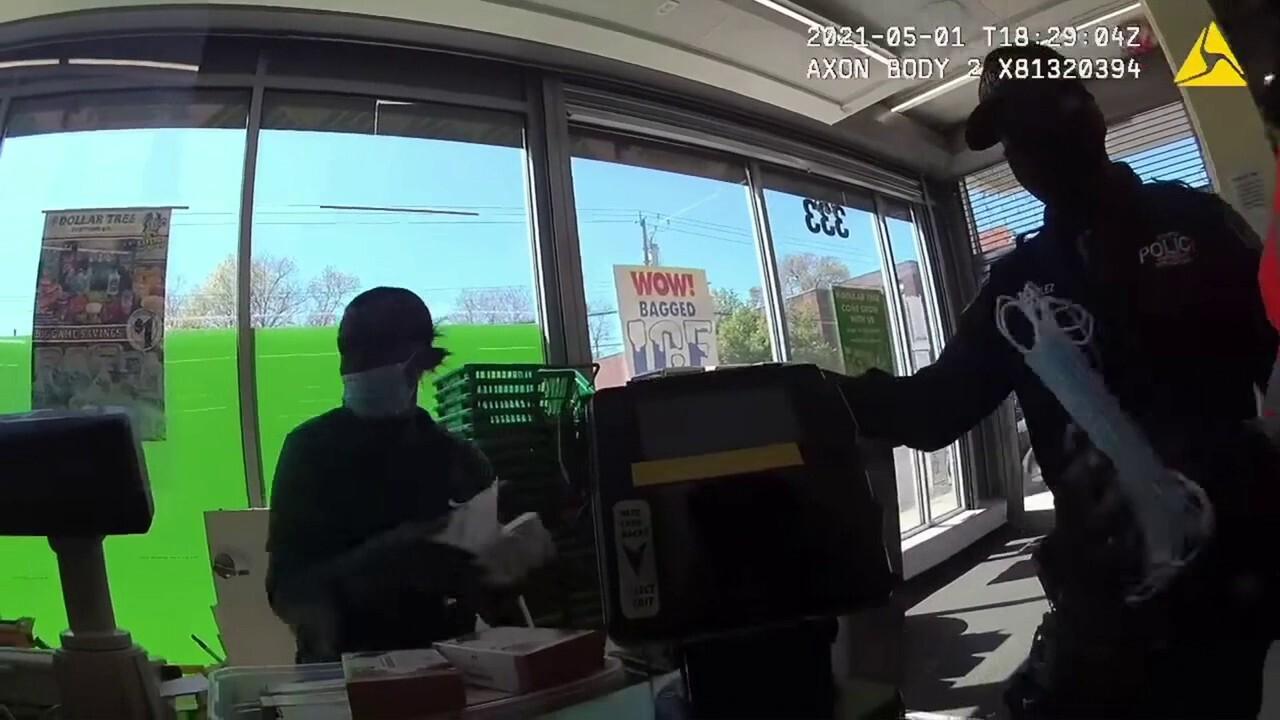Mount Vernon cop picks up tab for stolen socks