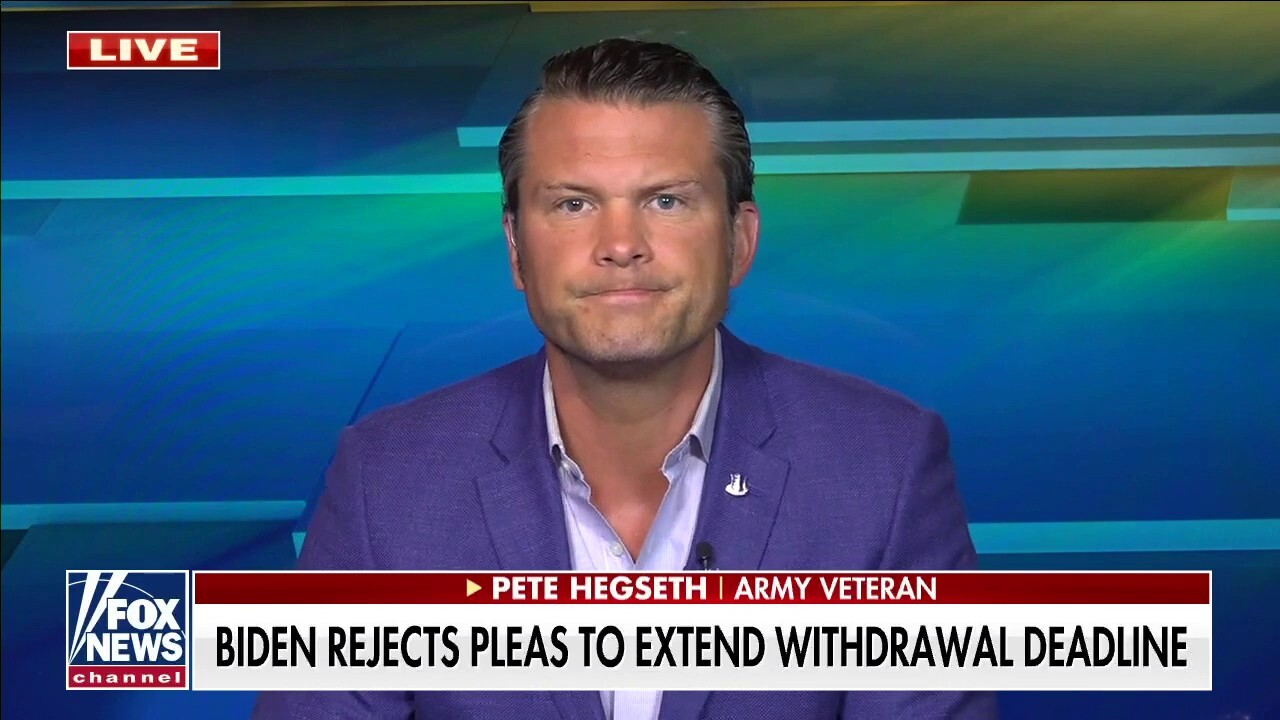 Hegseth on Afghan withdrawal deadline: Doors closing 'very, very soon' for US citizens