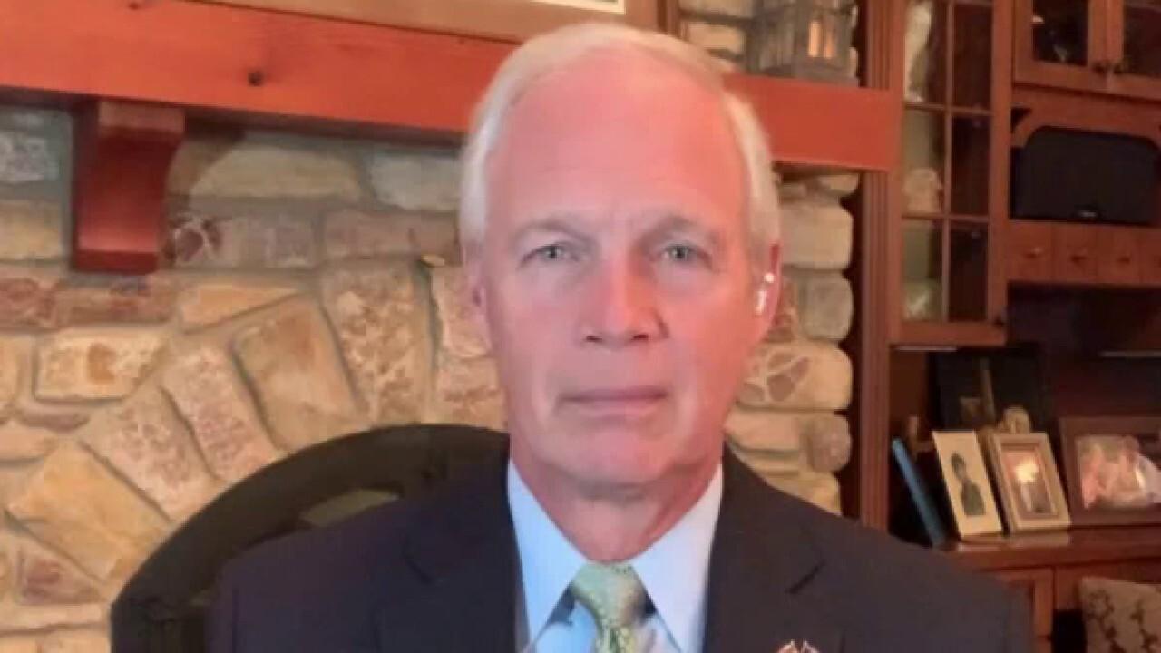 Senator Ron Johnson says the CDC's COVID messaging 'doesn't make sense'