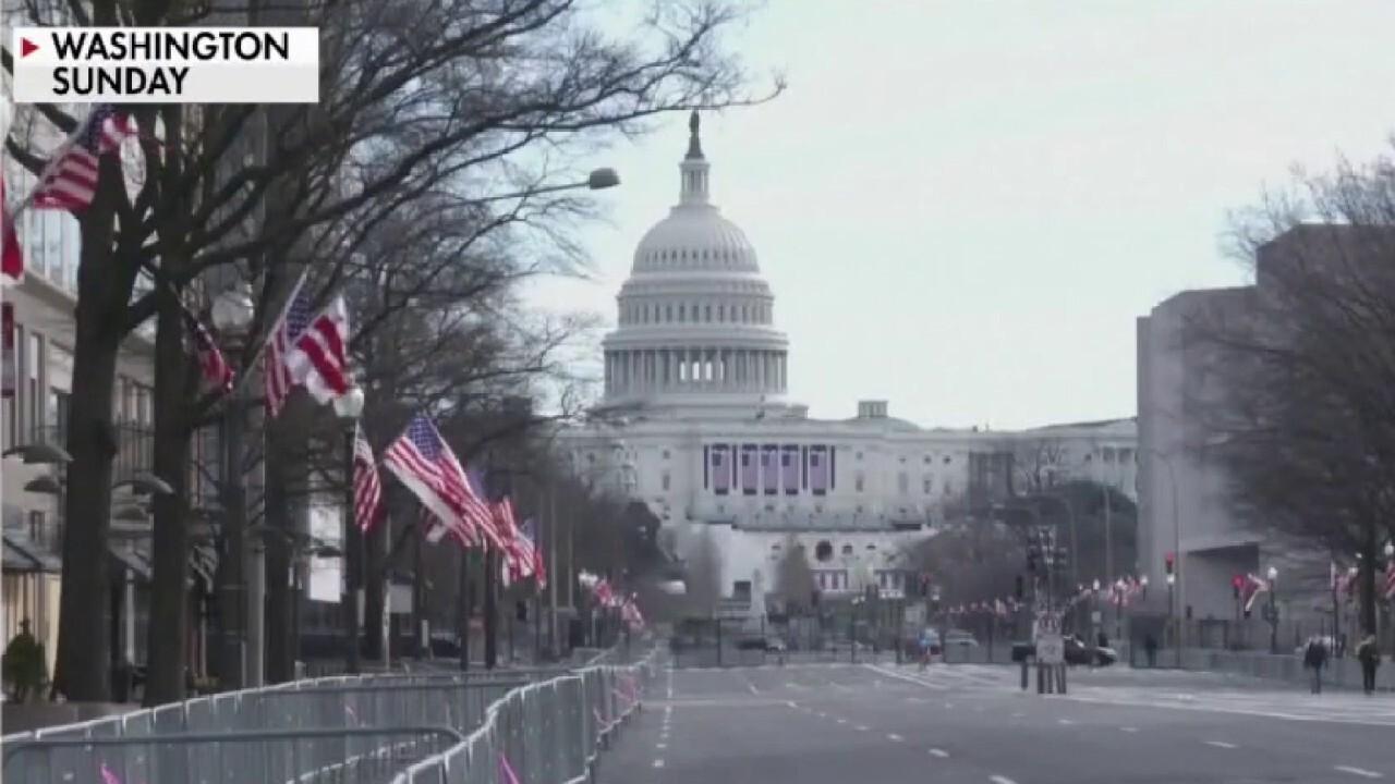 FBI vetting National Guard troops in Washington ahead of Biden inauguration