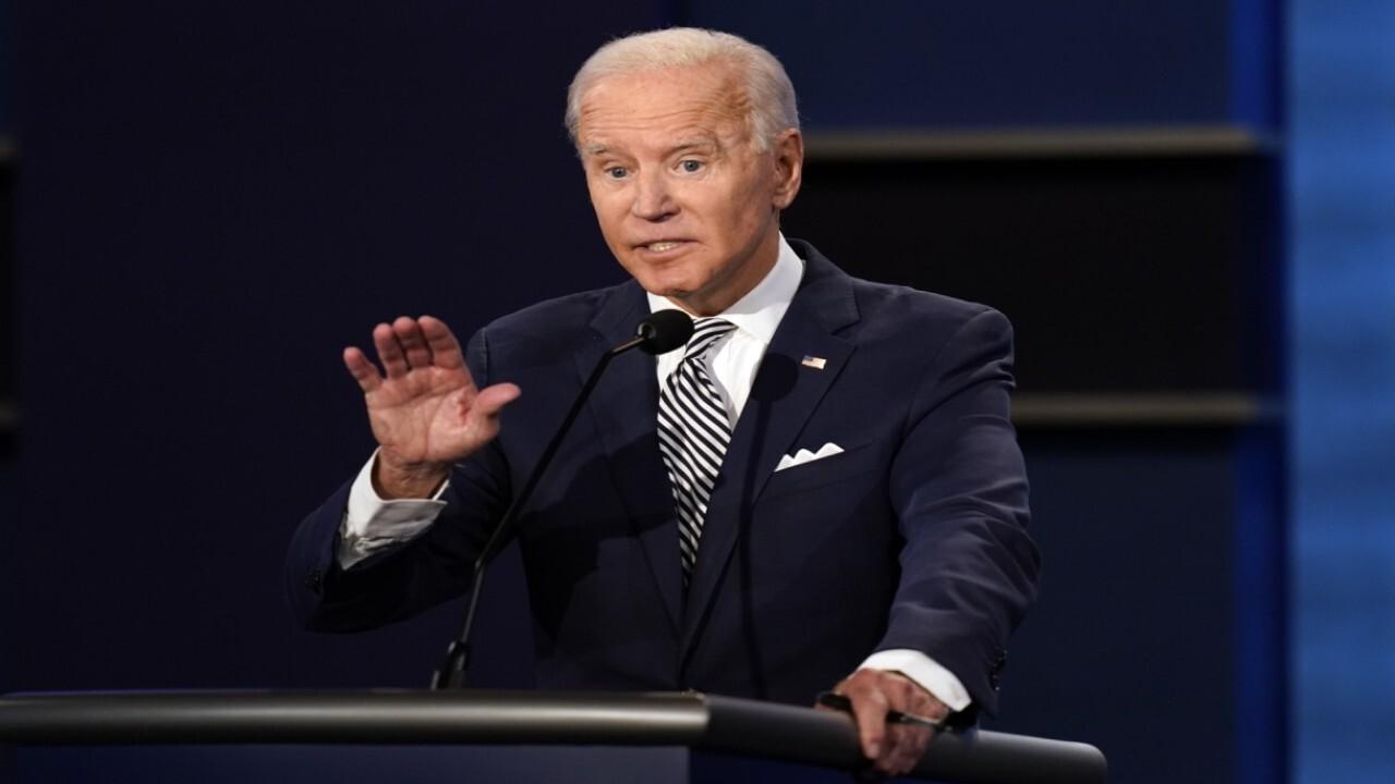 At debate, Biden dodges question on court-packing