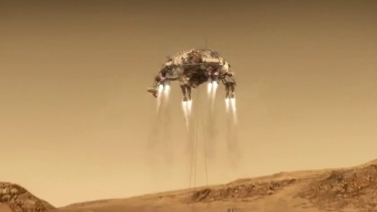 NASA's Perseverance rover lands on Mars after seven-month journey