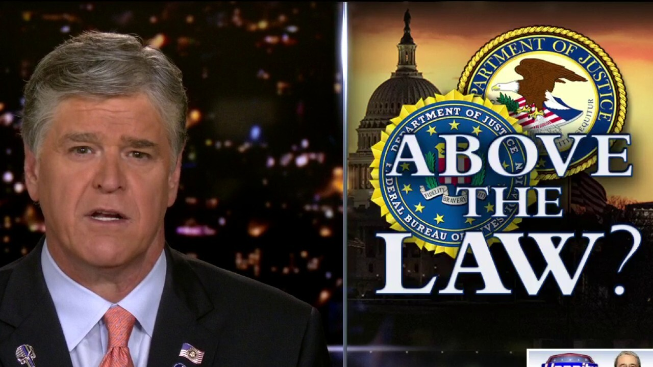Hannity: Will FBI's Wray hold deep state accountable?
