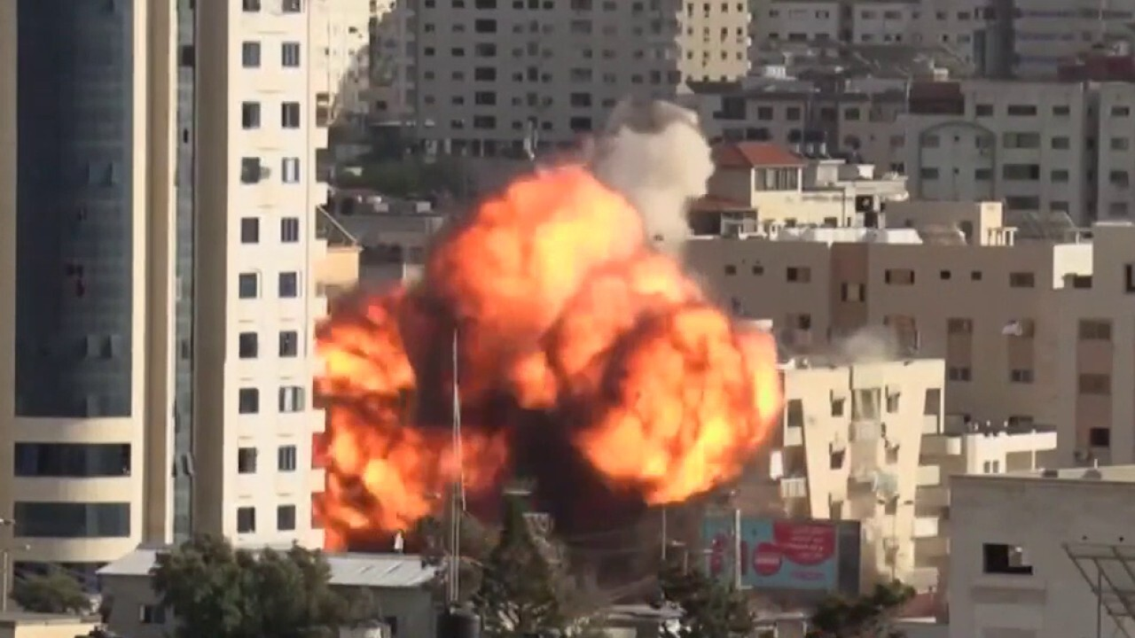 Israel unleashes airstrikes in escalating conflict with Hamas