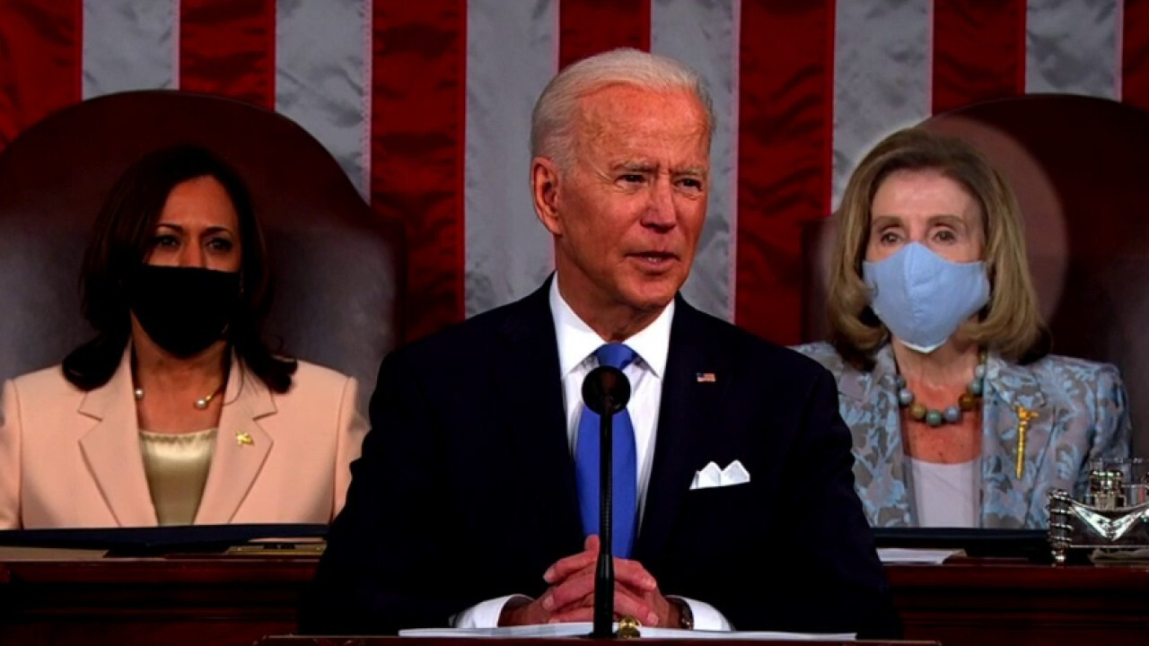 Ingraham: Biden's address to Congress fell flat