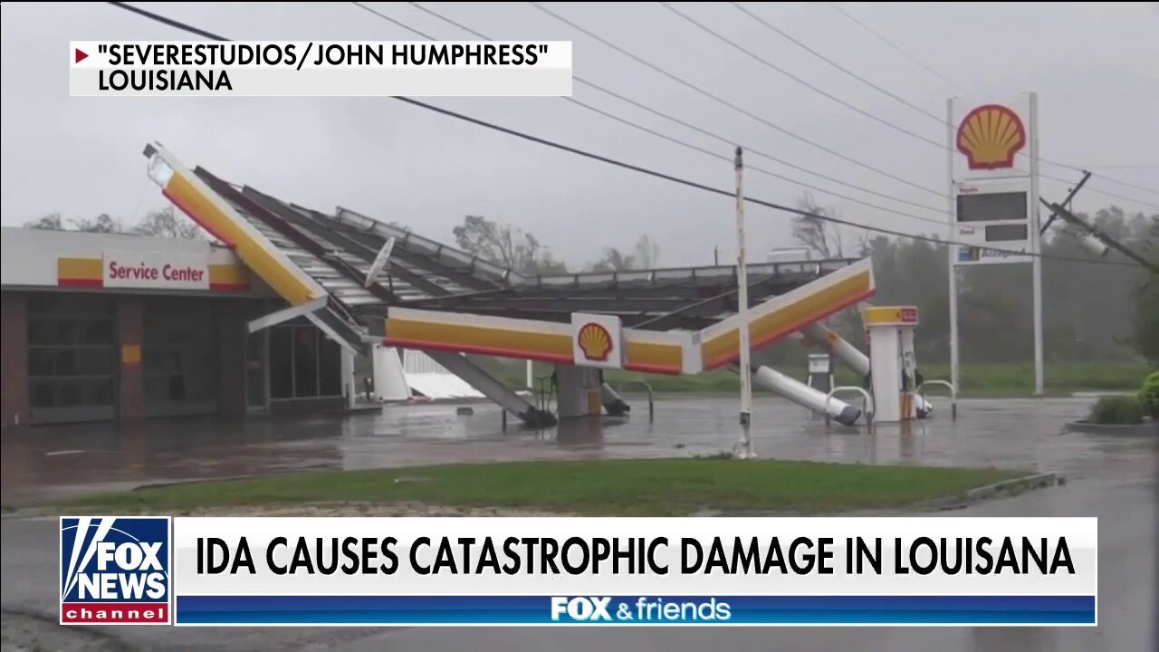 Ida has caused 'total devastation' in Louisiana, says rescue effort volunteer