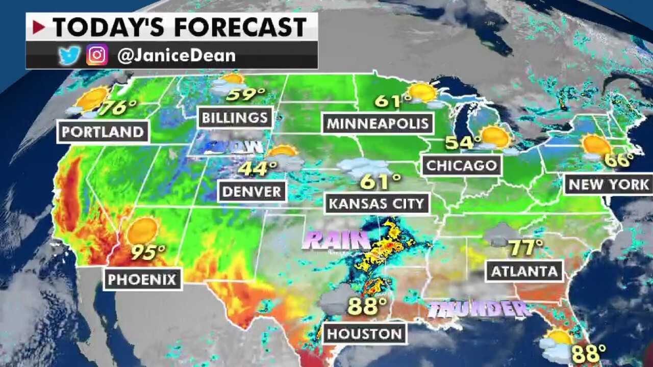 National weather forecast for Tuesday, May 11