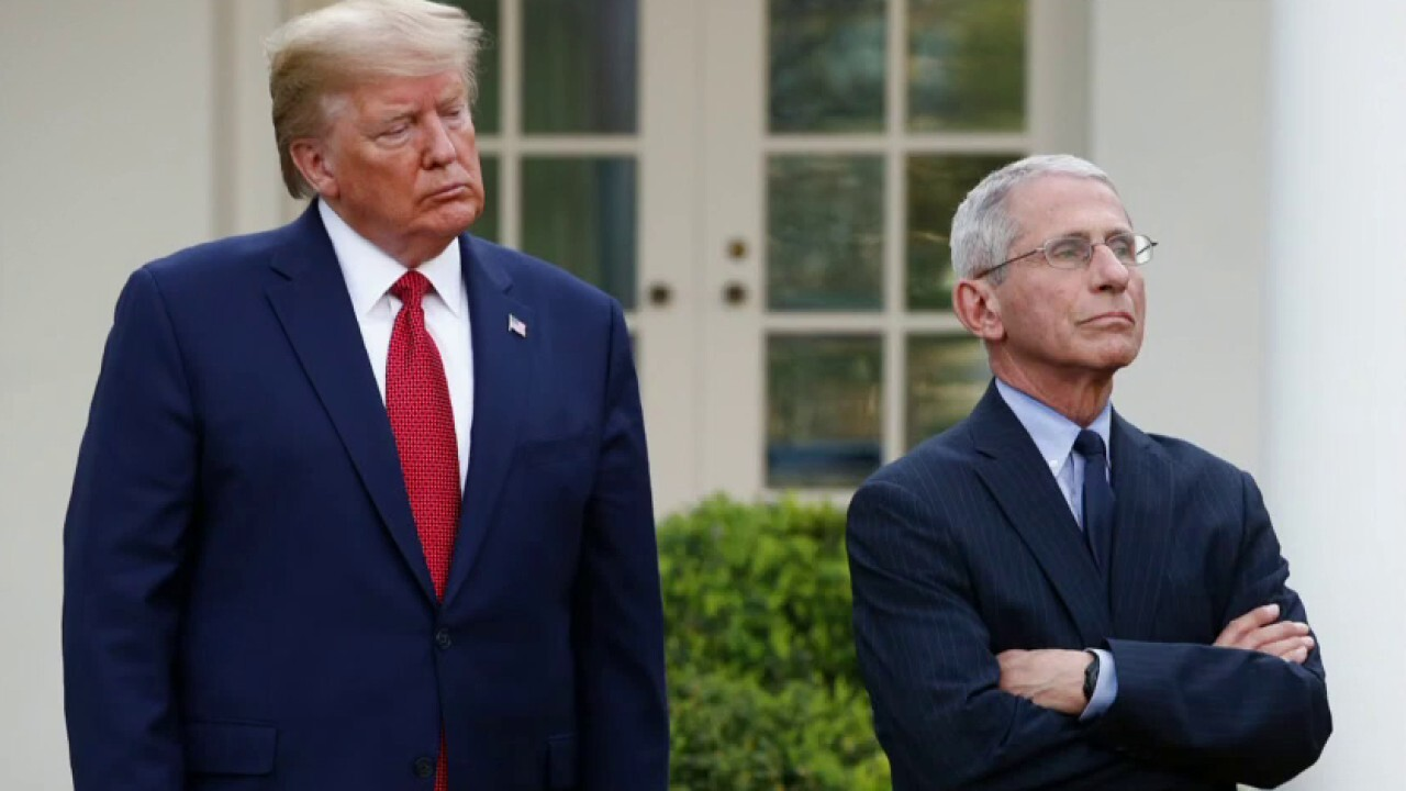 Trump touts lower coronavirus death rate as Fauci warns of danger