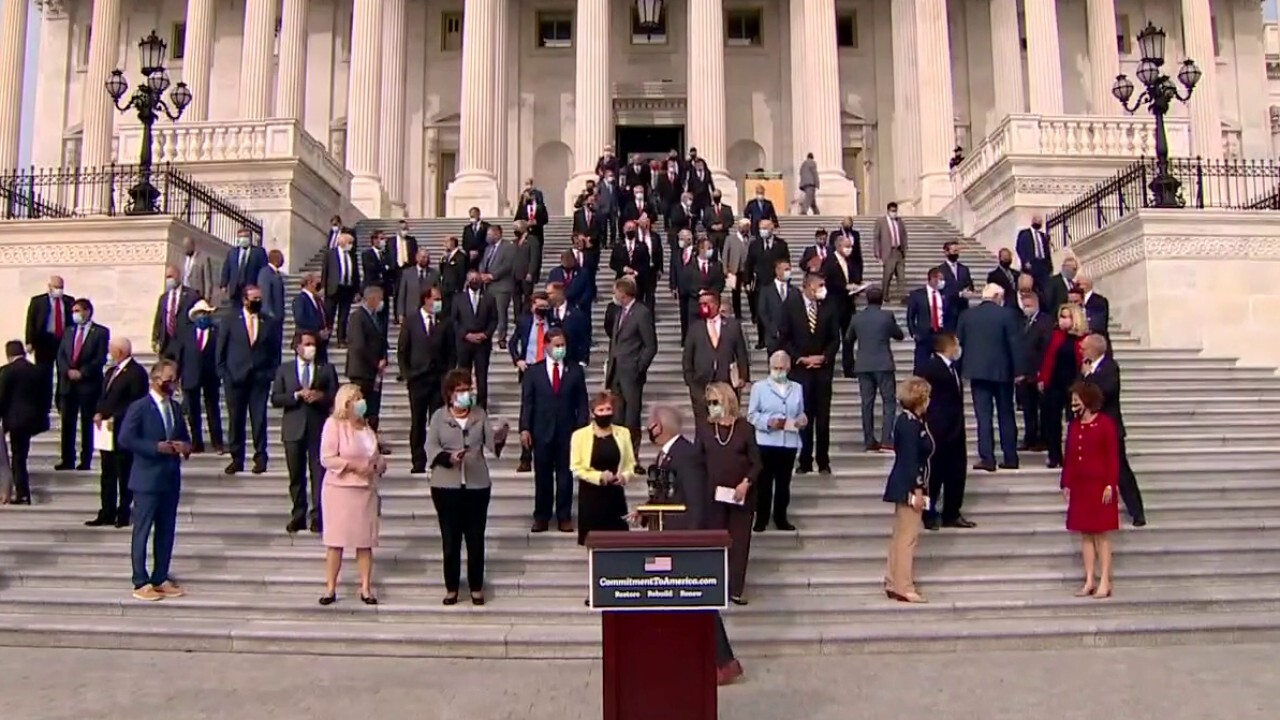House GOP hold Commitment to America press conference