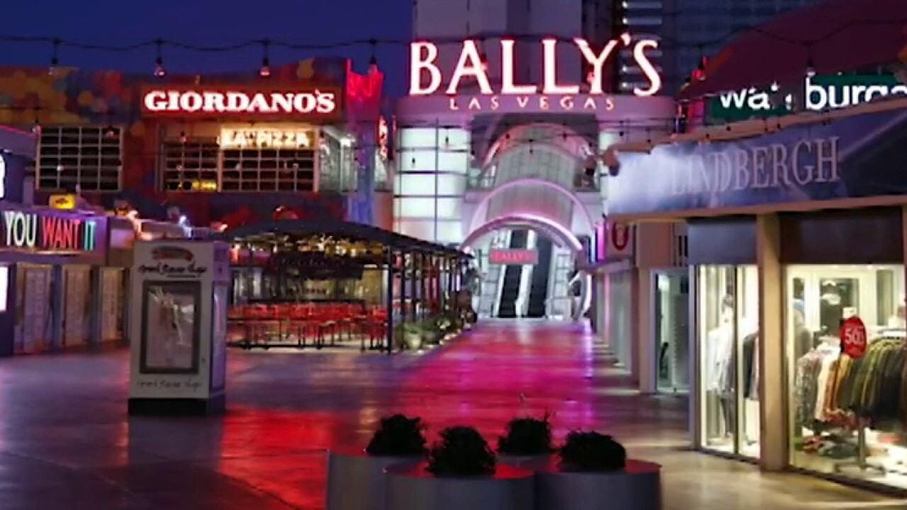 Las Vegas casinos open for first time in more than two months following coronavirus shutdown