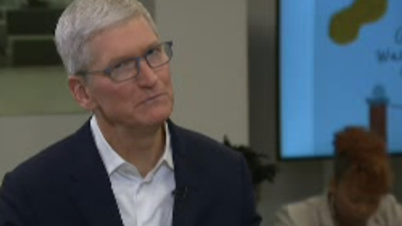 Exclusive access: Apple's Tim Cook rolls out education initiative in Alabama