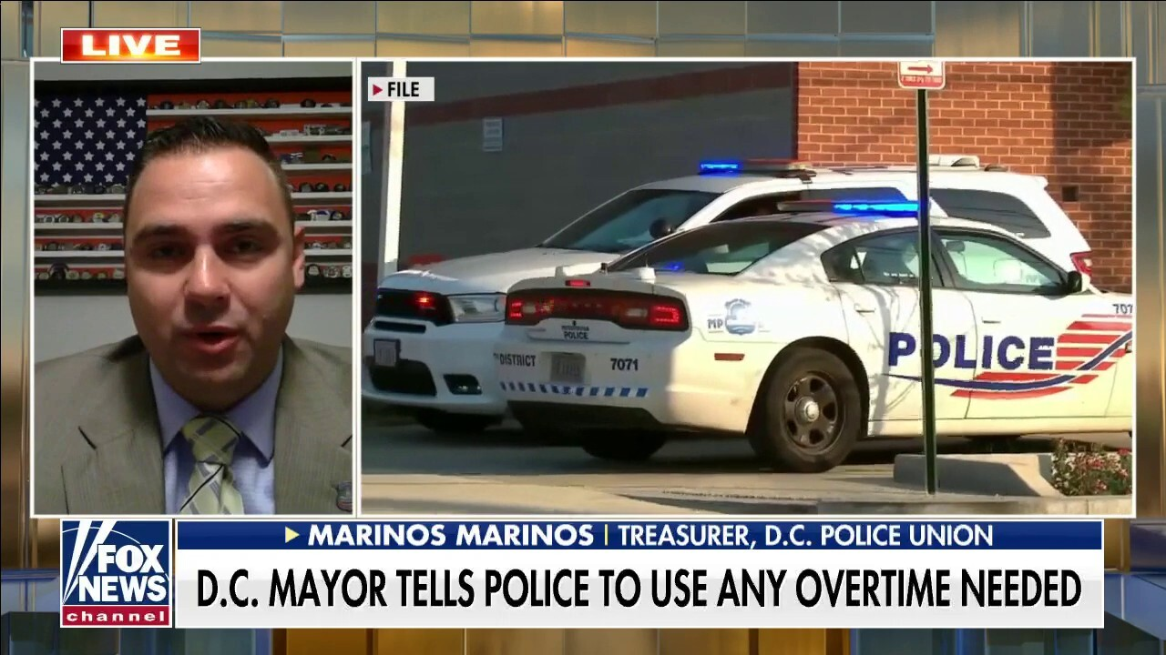 Cops don't have 'any faith' that city council supports them: D.C. Police Union treasurer