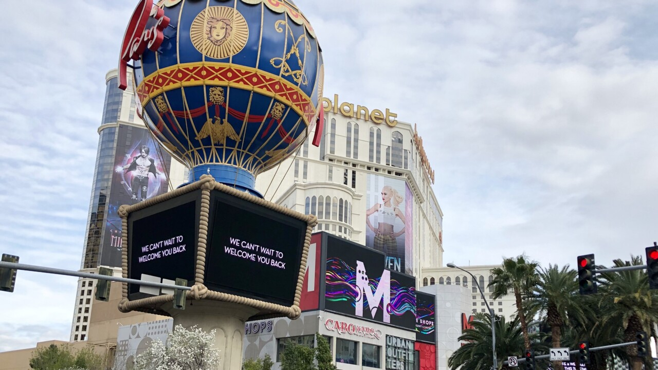 "Illusionist Criss Angel on Vegas Strip shutdown: ""we're going to get through this"""