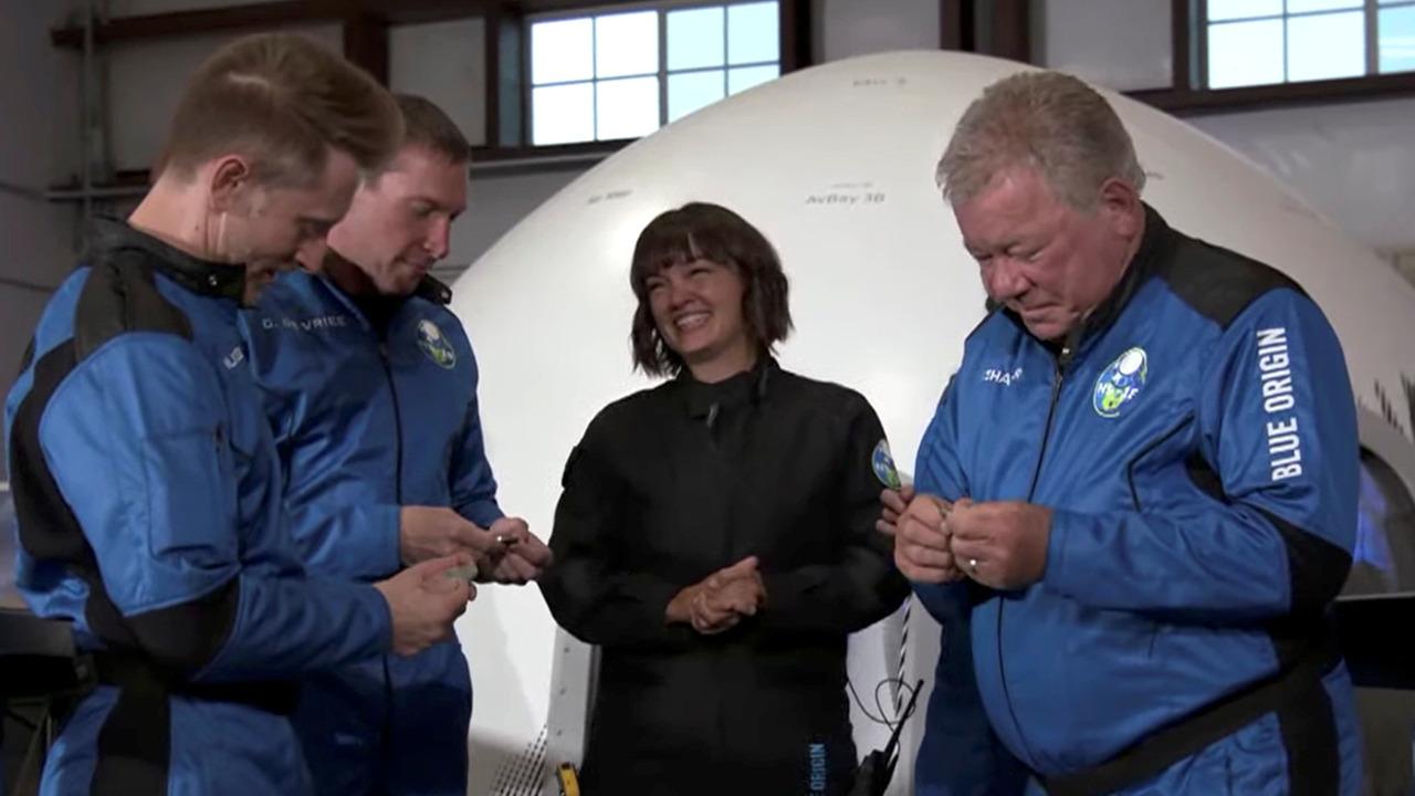 Former NASA astronaut on 'Star Trek' actor William Shatner's Blue Origin spaceflight