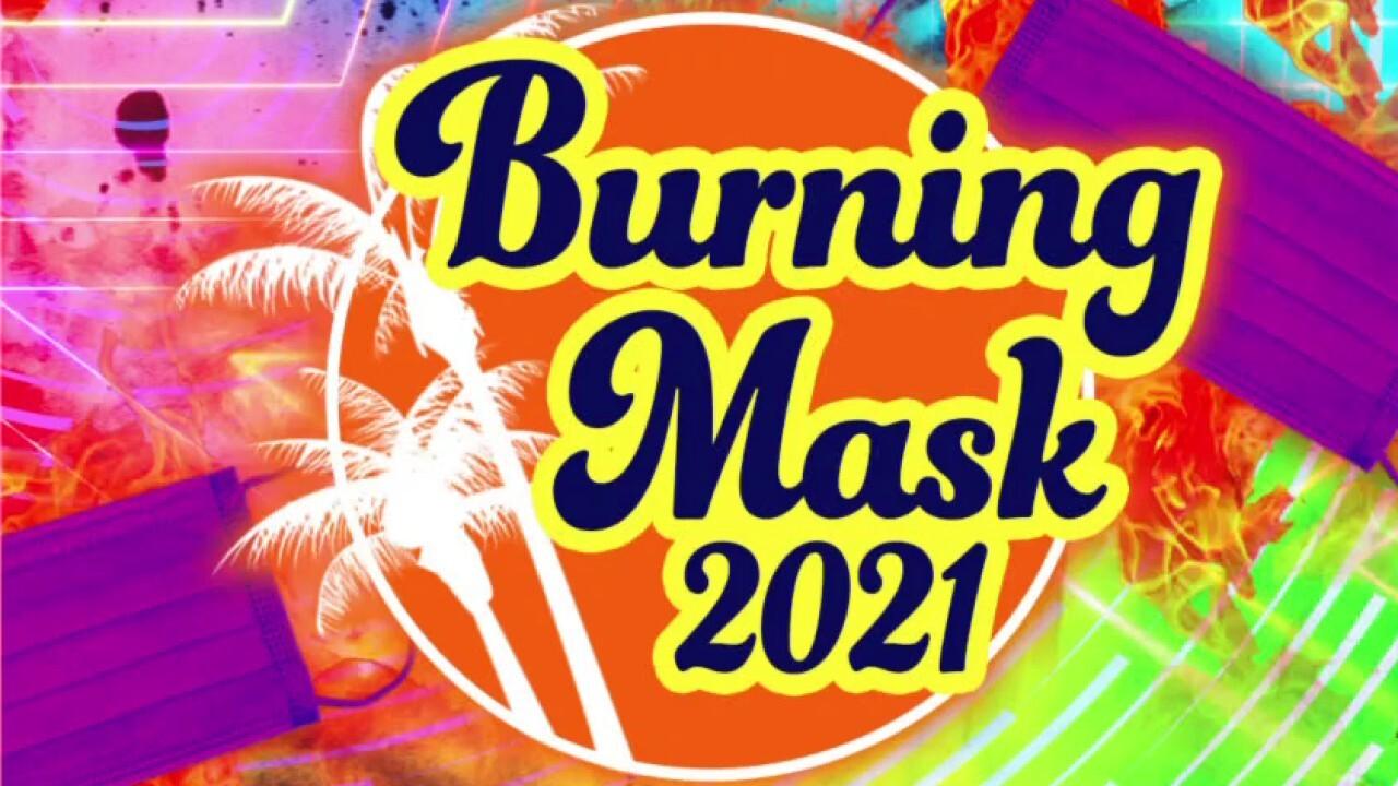 Tucker says burning masks should replace 'Burning Man' festival