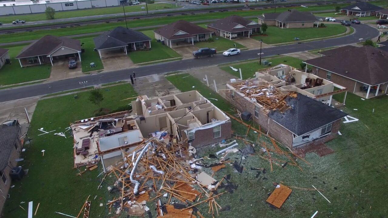 Monroe, Louisiana hit hard by tornado amid COVID-19 pandemic
