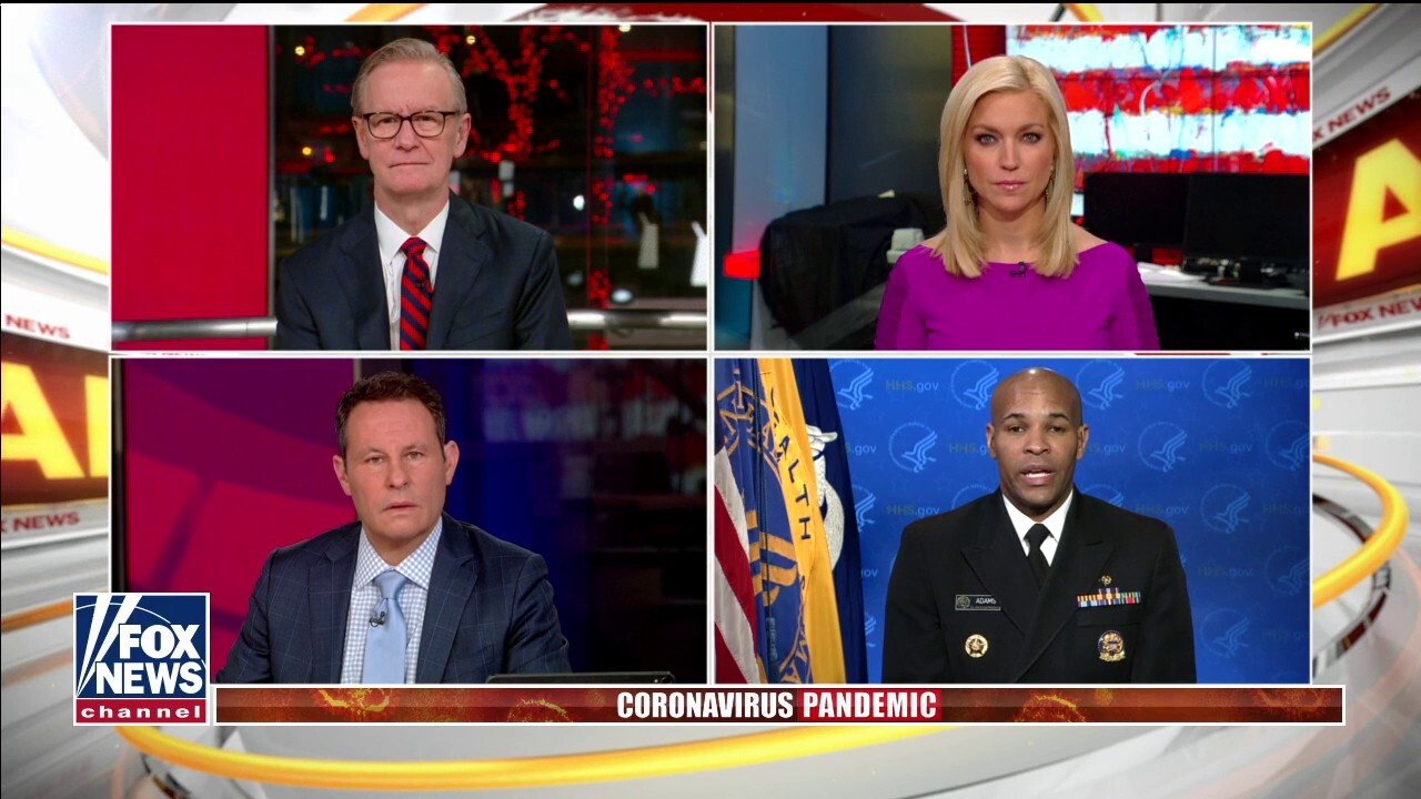 Kilmeade to Surgeon General: Why should U.S. believe China's numbers?