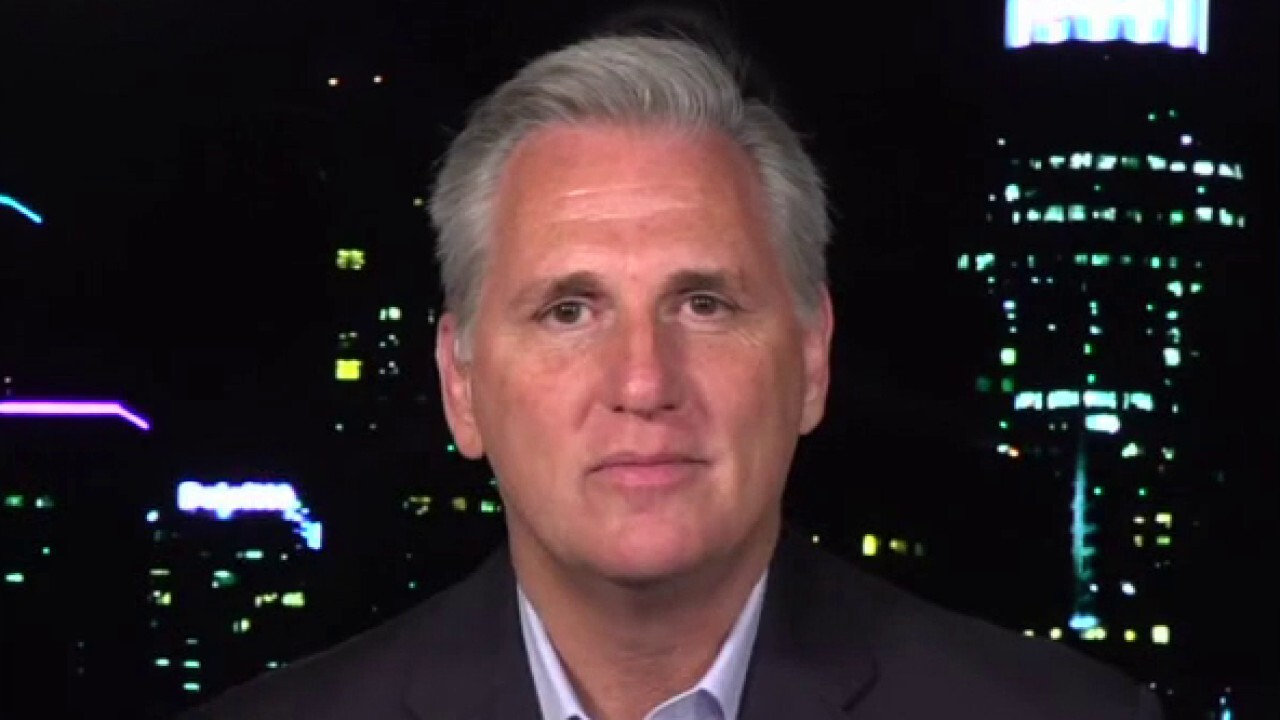 Rep. Kevin McCarthy says Democrats would rather see America suffer than watch President Trump succeed