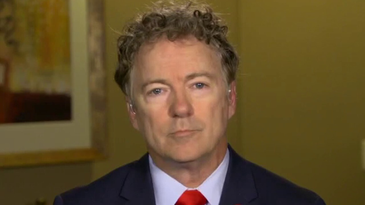 Sen. Paul assesses president's first 100 days in office: 'It's Biden's way or the highway'