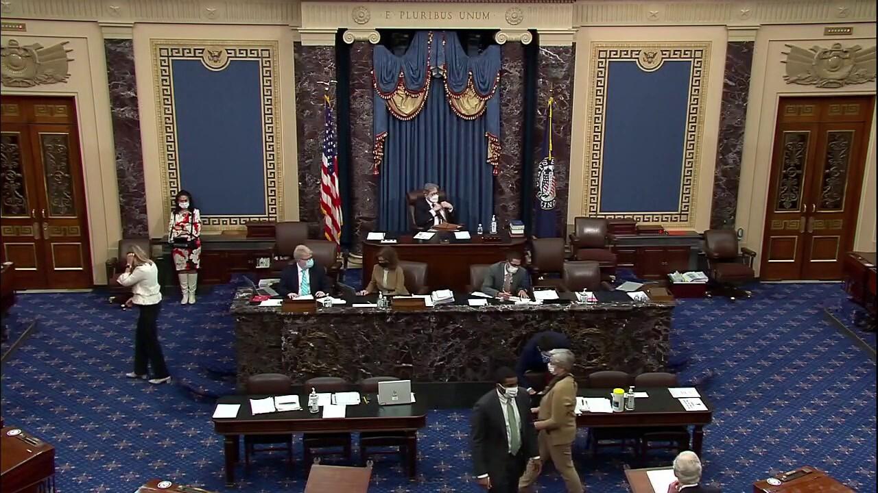 Senate votes on massive coronavirus government spending bill