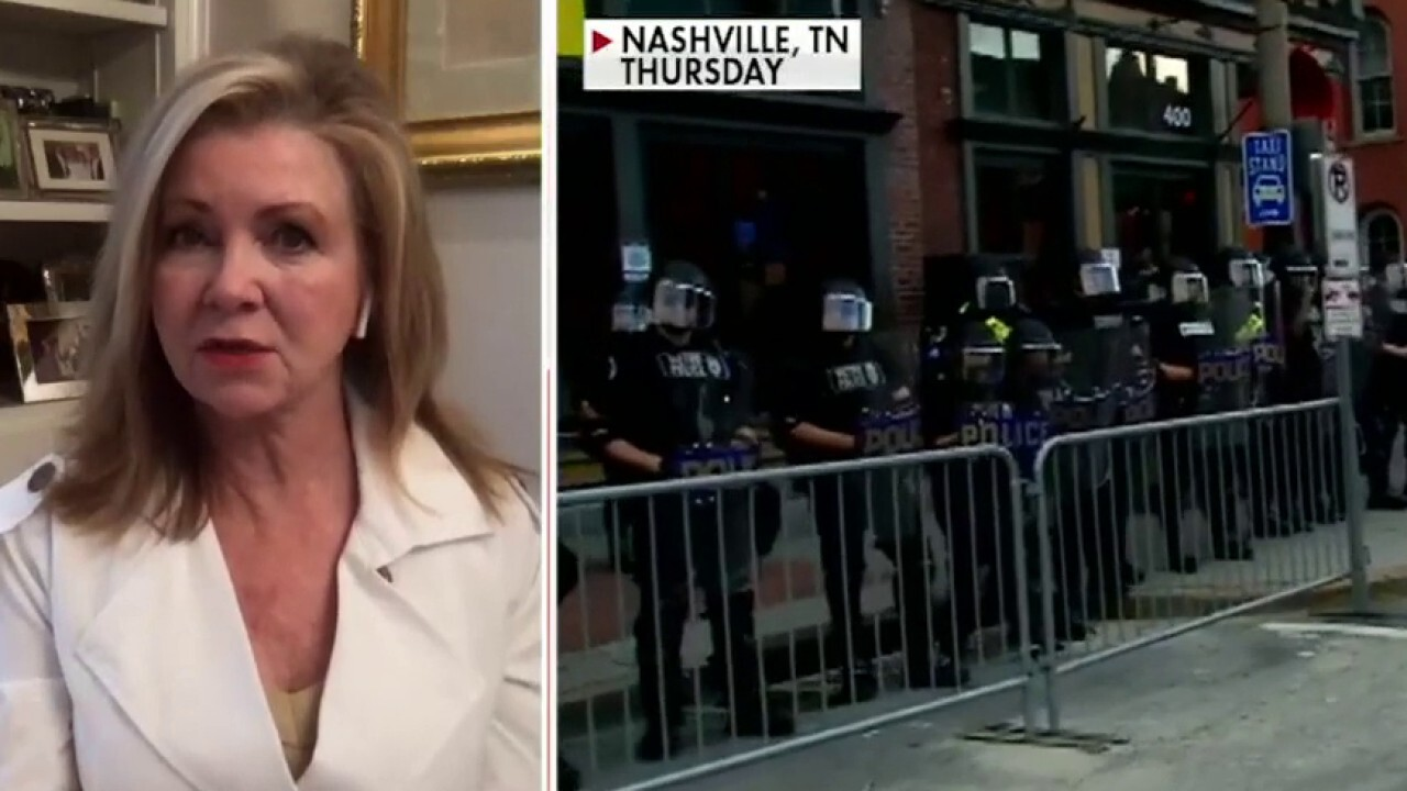 Sen. Marsha Blackburn on activists calling to defund police amid unrest