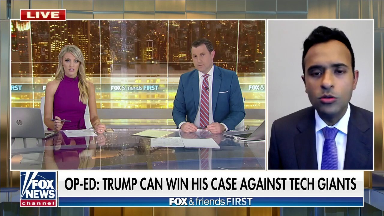 Vivek Ramaswamy on why he believes Trump could win his lawsuit against Big Tech