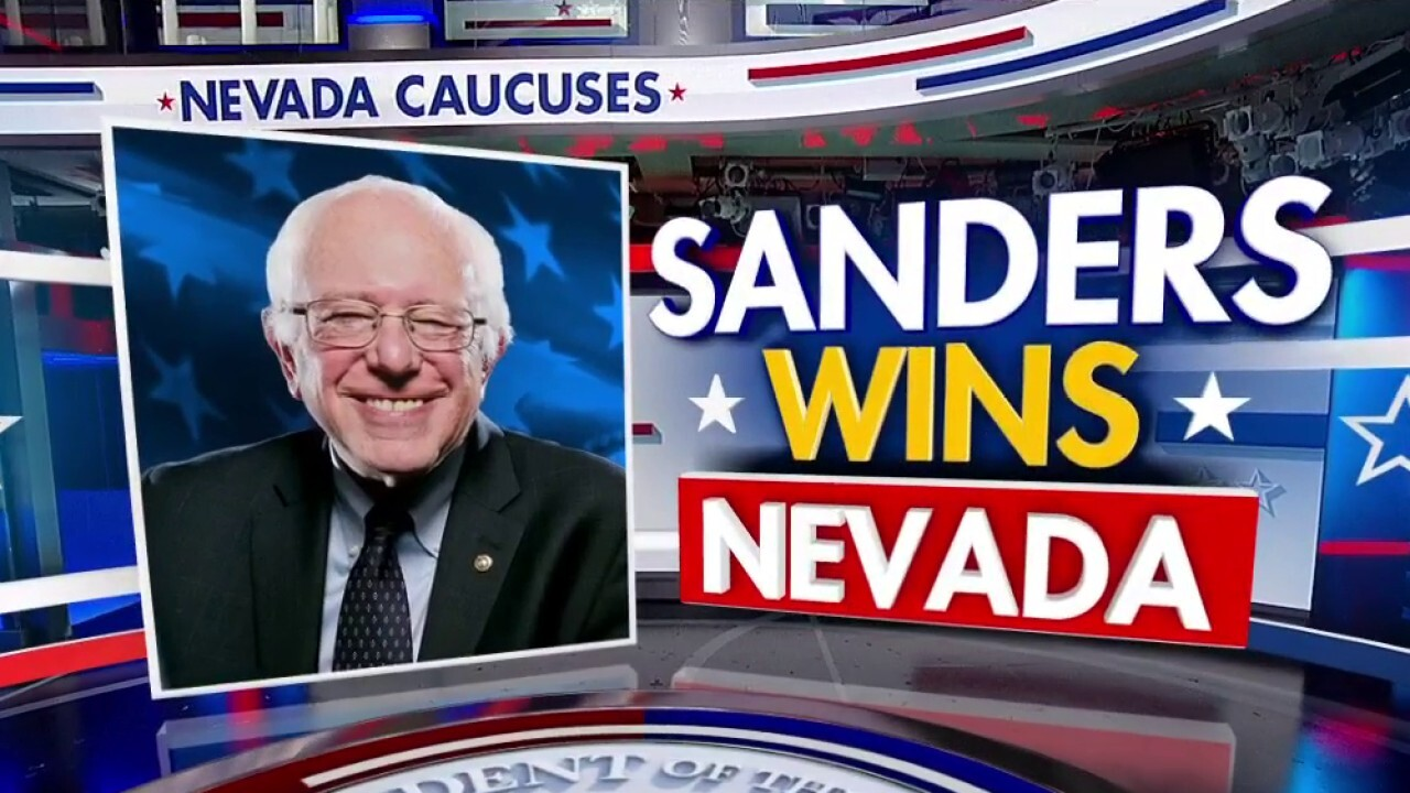 John Fund: Bernie Sanders' projected Nevada victory leaves Dem establishment scrambling – Can he be stopped? - fox