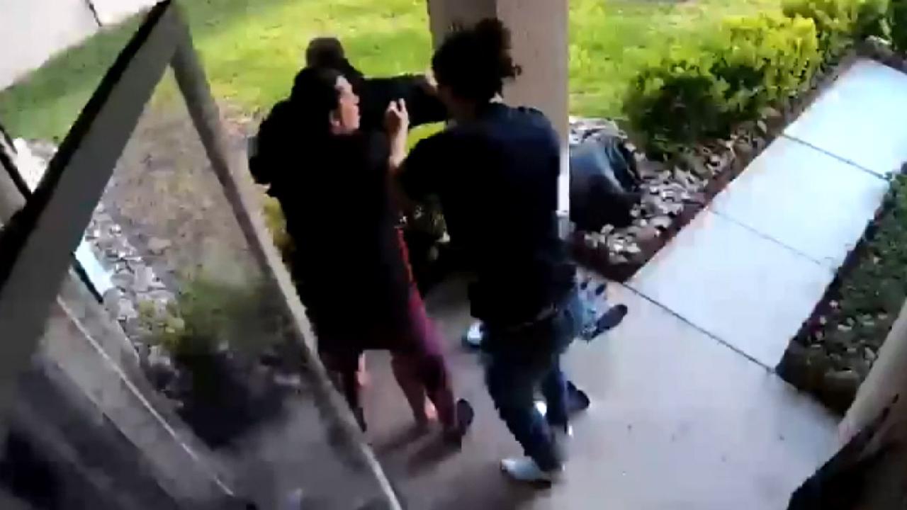 Choking victim saved as hero neighbor springs into action
