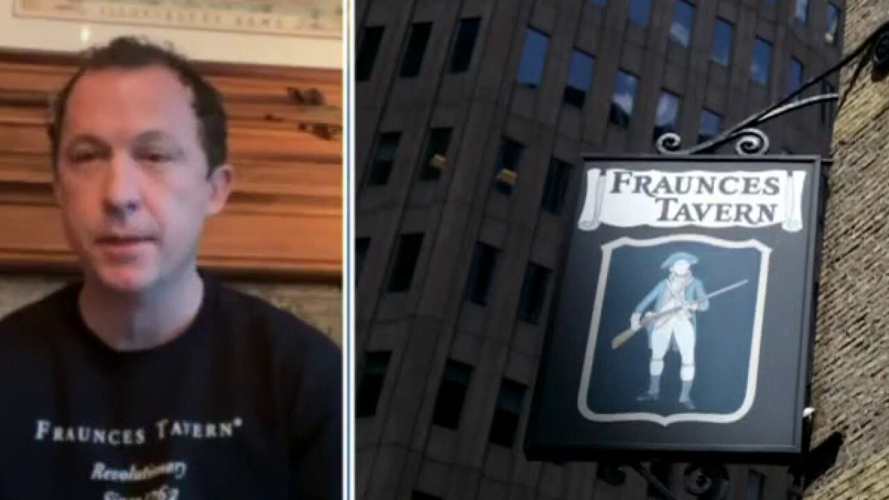Owner of historic Fraunces Tavern on indoor dining ban: 'It's impossible to do business'