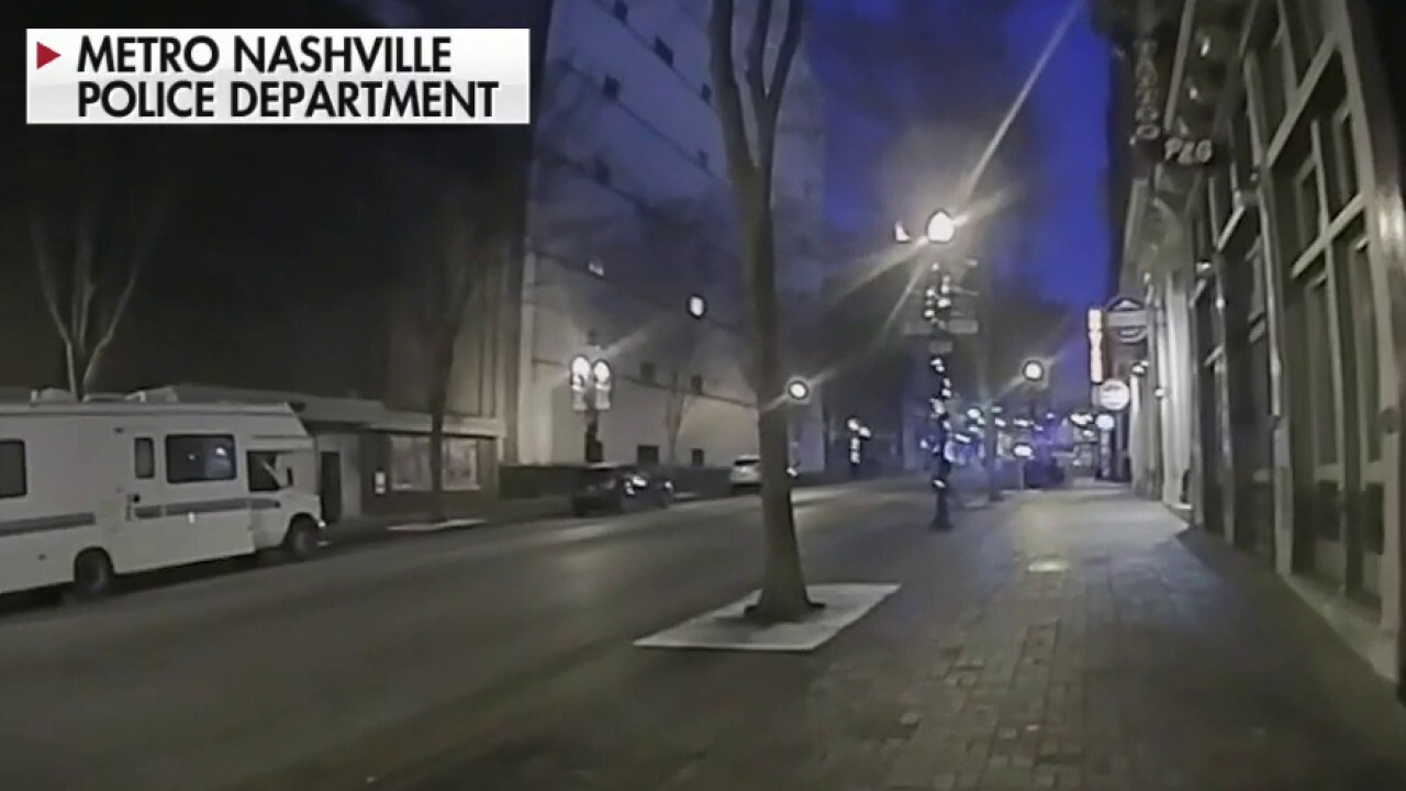Bodycam footage captures frantic moments before, after Nashville blast