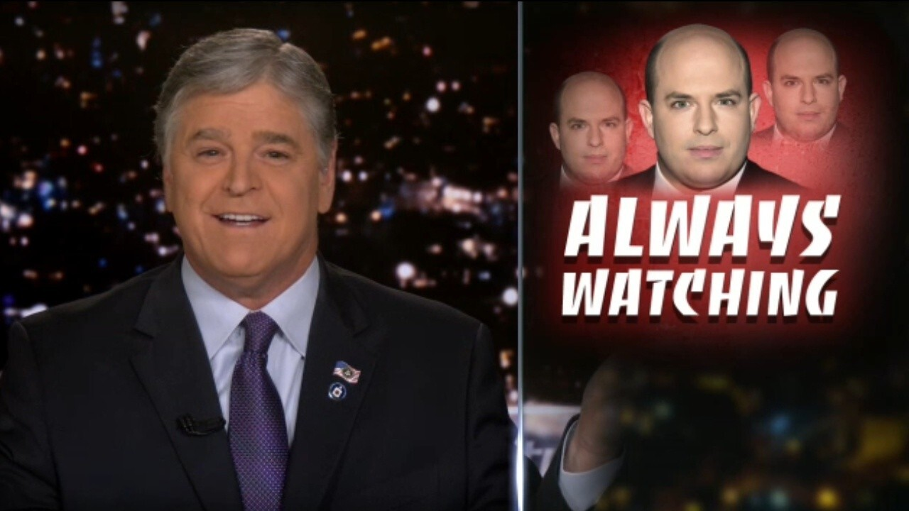 Hannity: Brian Stelter had a 'meltdown' over my show