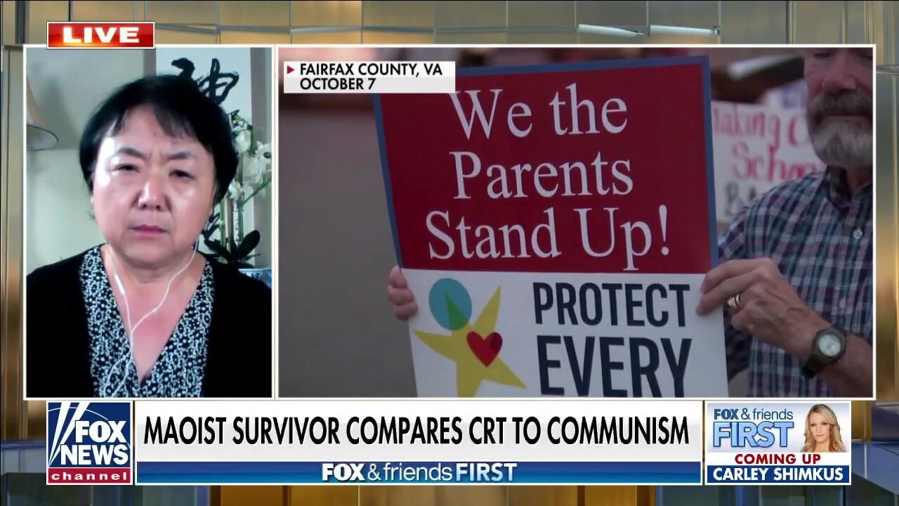 VA parent blasts critical race theory push: 'Communism is here'