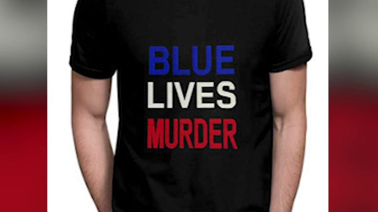 'Blue Lives Murder' apparel fueling anti-police rhetoric: Retired police chief