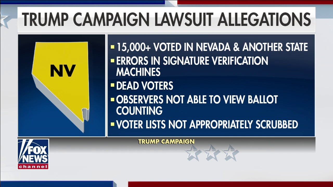 Trump campaign files new lawsuit in Nevada