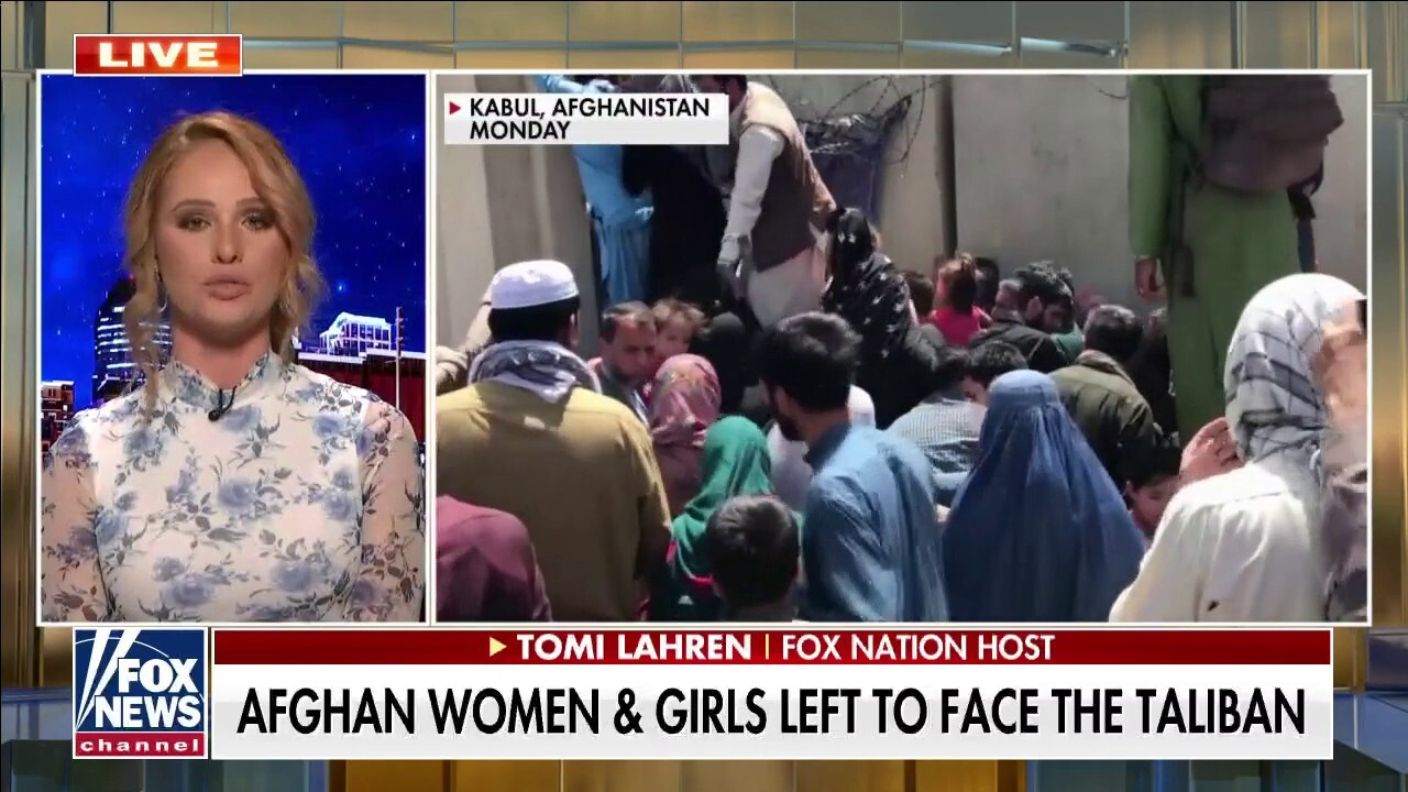 Tomi Lahren speaks out after Afghanistan disaster: 'The women of Afghanistan experienced true oppression'