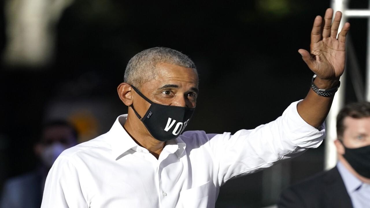 Candace Owens: Barack Obama left White House 'hating America'