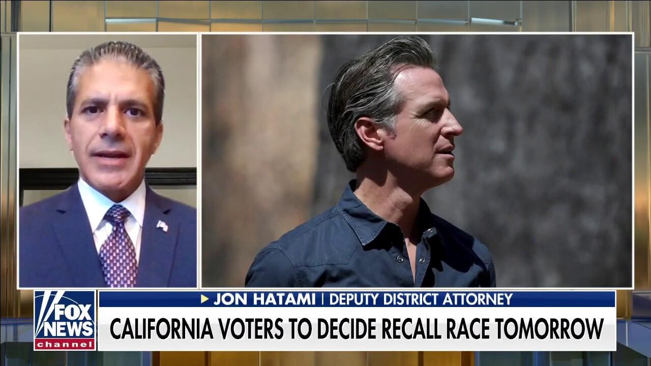 CA deputy district attorney blasts Gov. Newsom: 'Failed to do his number one job'