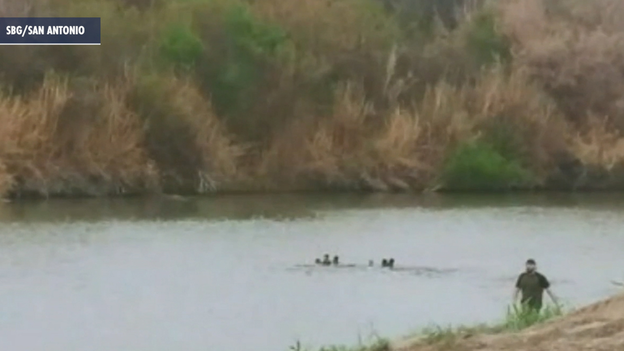 Border crossing results in possible drowning