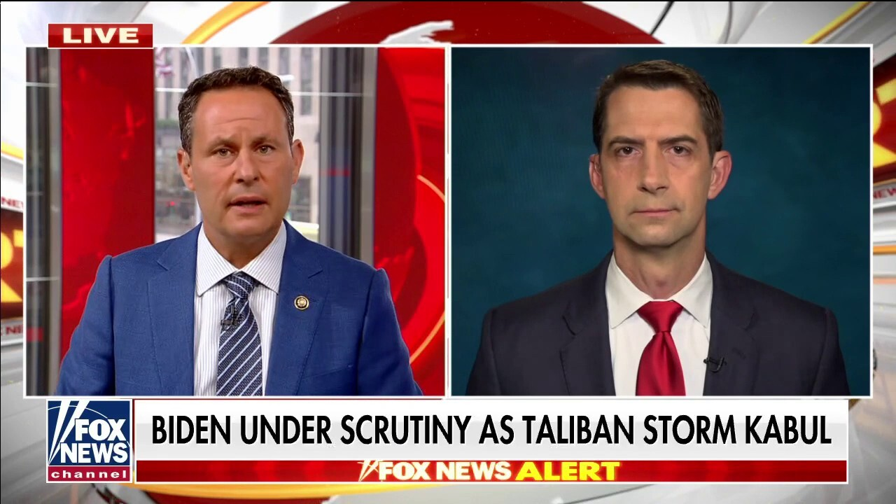 Sen. Cotton on Afghanistan falling to the Taliban