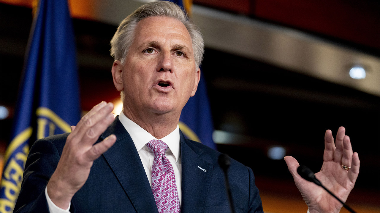 House Minority Leader McCarthy, GOP Afghanistan veterans hold press conference following classified briefing
