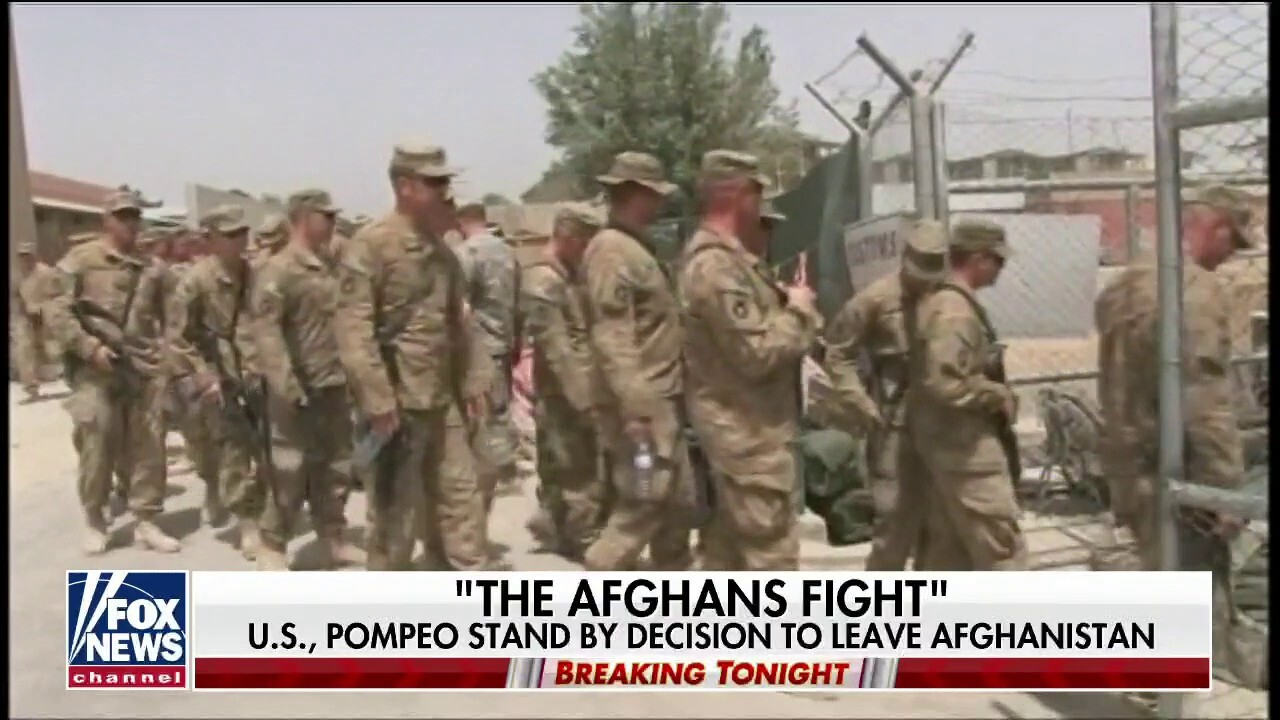 Taliban continue to make major gains in Afghanistan as US troops leave region