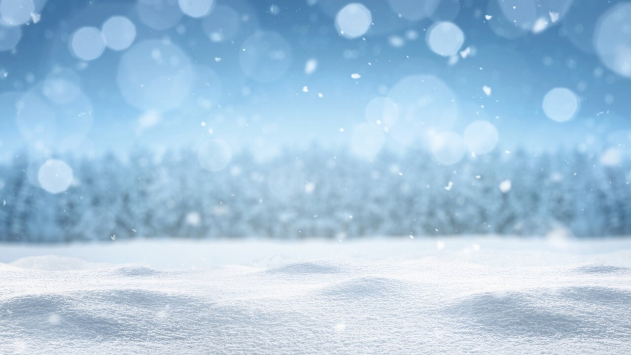 What is a snow squall?