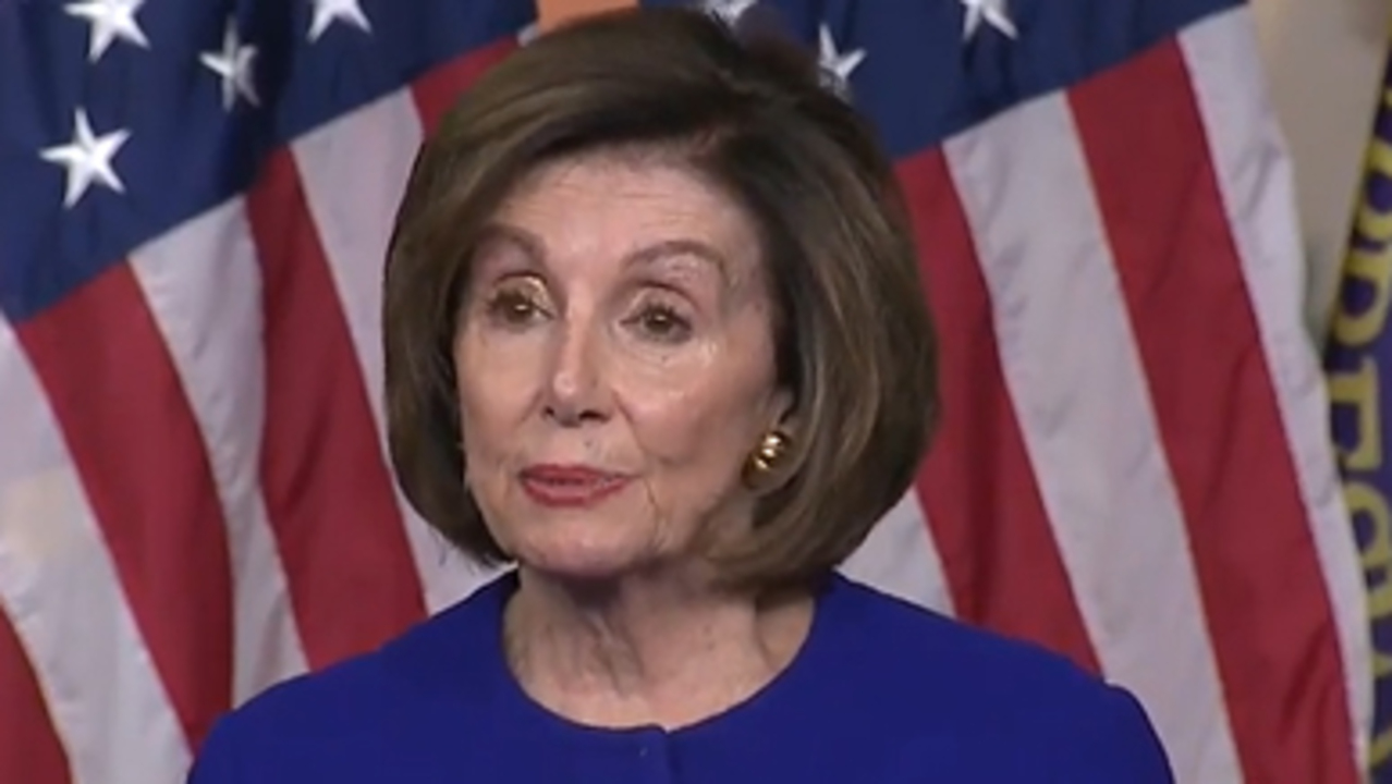 Pelosi on War Powers Act: Power to declare war is constitutionally a power of Congress