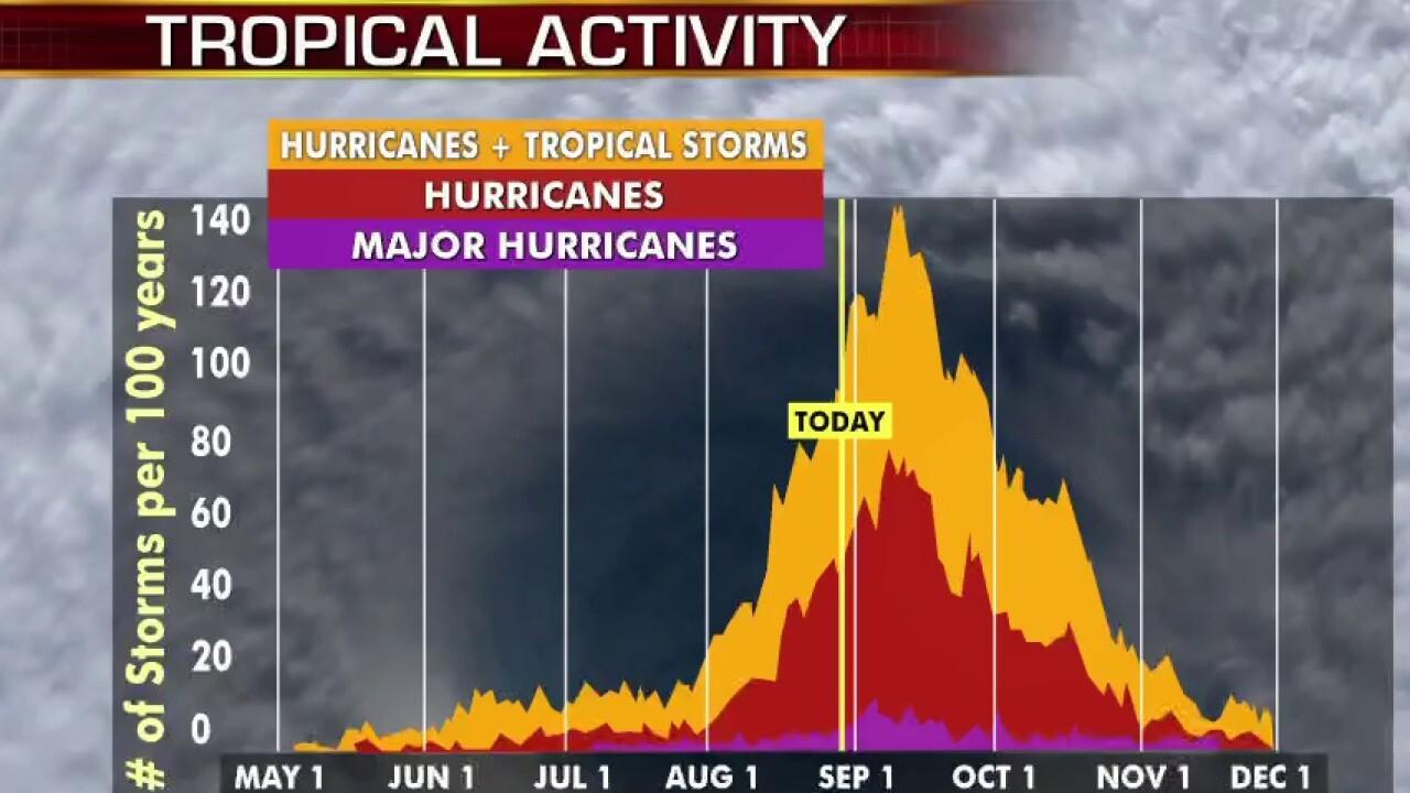 Remnants of Hurricane Laura soak several states after lashing Louisiana-Texas coastline