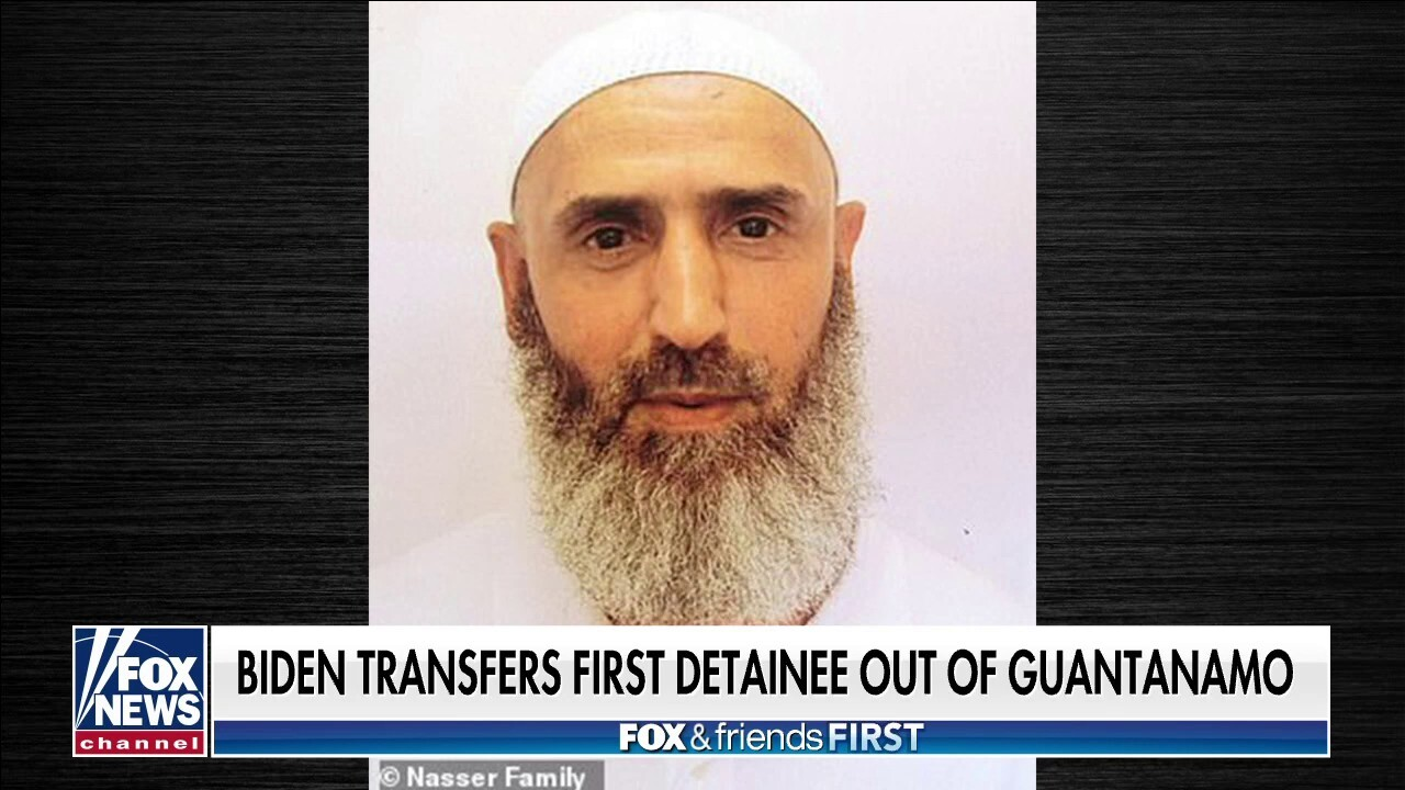Biden admin transfers accused Taliban fighter out of Guantanamo Bay