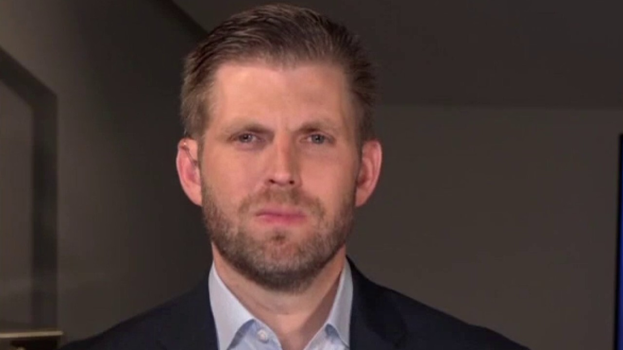 Eric Trump proud of father fighting every day for America