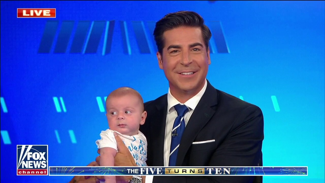 Jesse Watters Jr. makes an appearance on 'The Five'