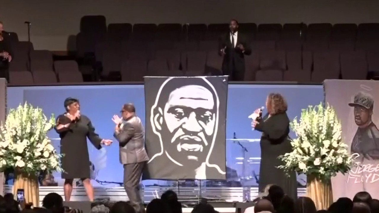Funeral service held for George Floyd in Houston