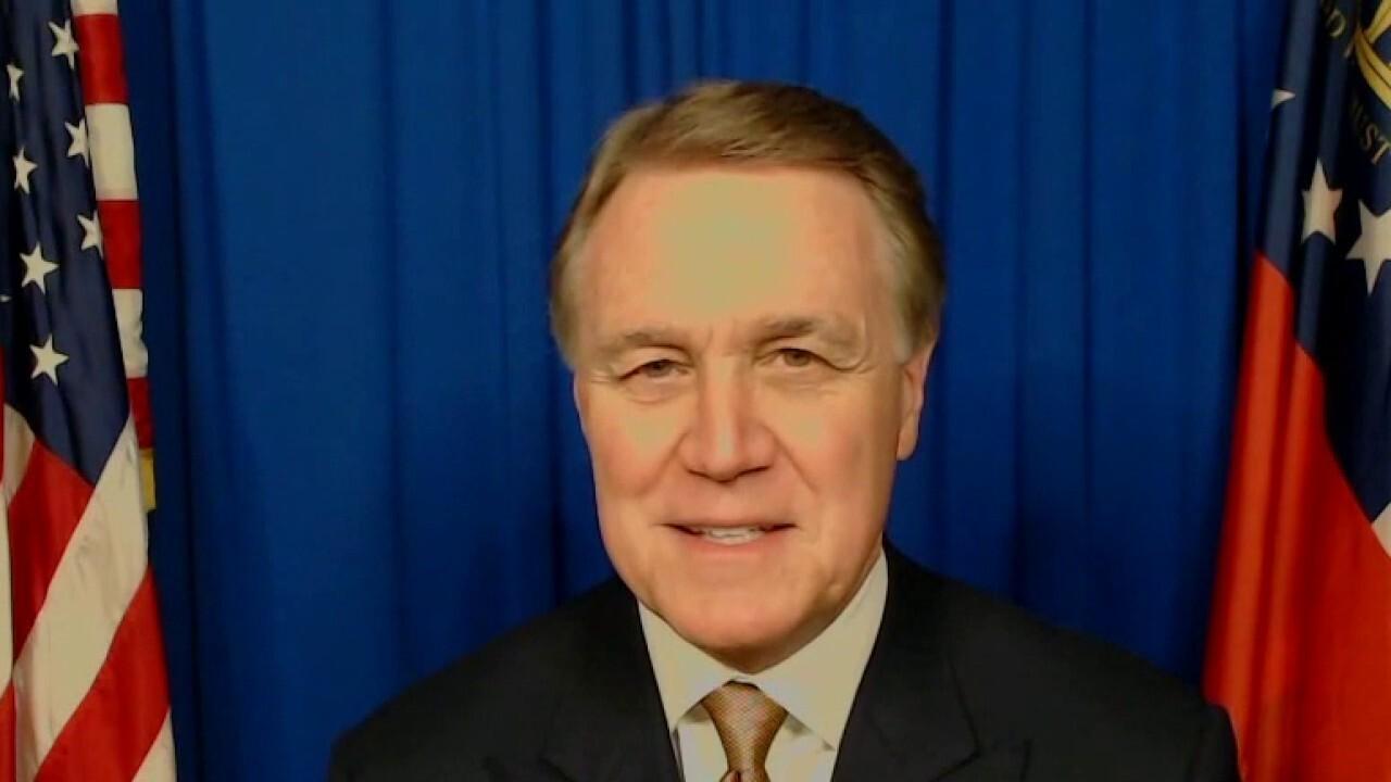 Sen. Perdue explains 'what's at stake' in Georgia Senate runoff election